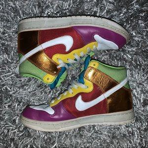 Nike Dunks Rainbow